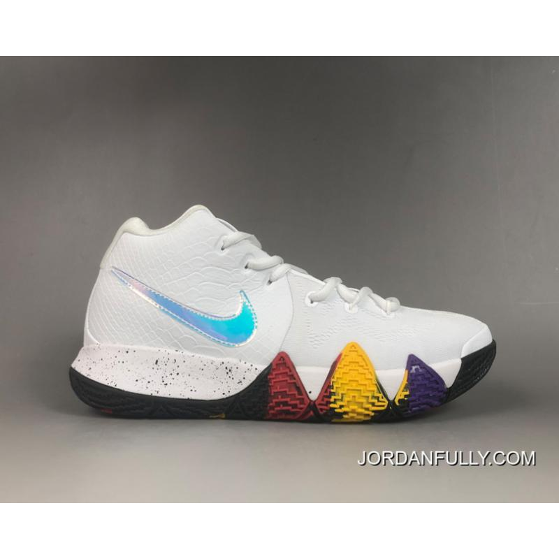 """Nike Kyrie 4 """"NCAA March Madness"""" White"""