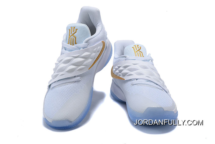 New Style Nike Kyrie Low White Gold